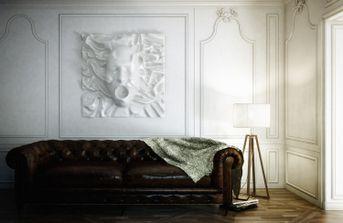 facciata sul divano