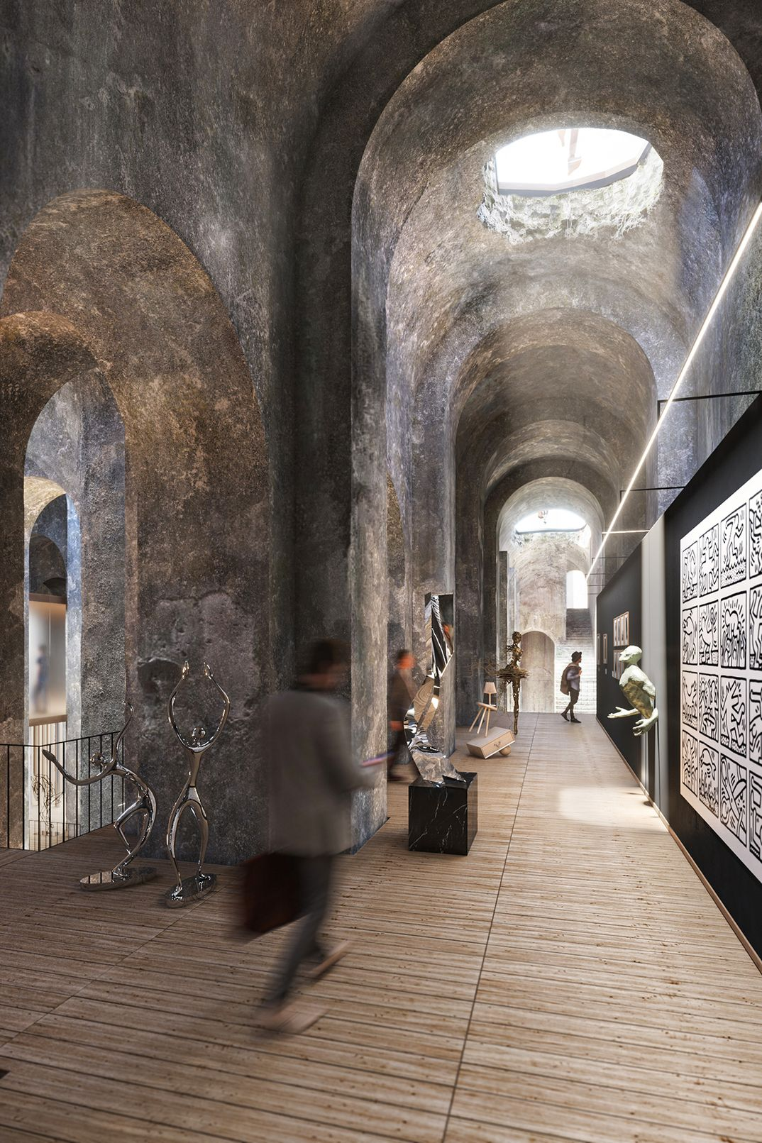 Re-Use Roman Ruin - Piscina Mirabilis