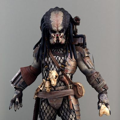 Elder Predator Cinematic Model