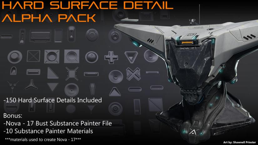 Hard Surface Detail Alphas