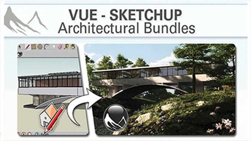 VUE SketchUp Architectural Bundles - 25% off