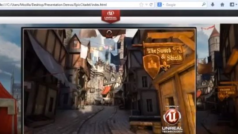 Mozilla e Unreal Engine: il web come piattaforma gaming