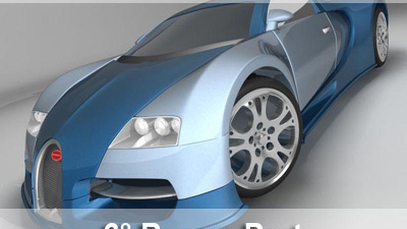 Modeling A Bugatti Veyron 16.4 - Maya