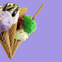 Cooking recipes in Blender - waffle cone