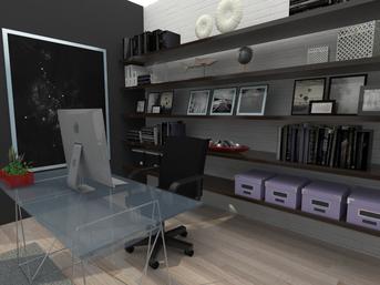 Prove di luci, materiali e render su modelli warehouse