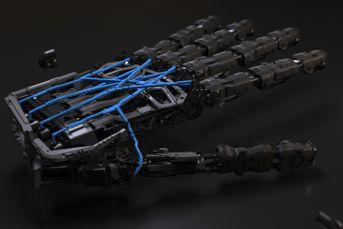 new robotic hand