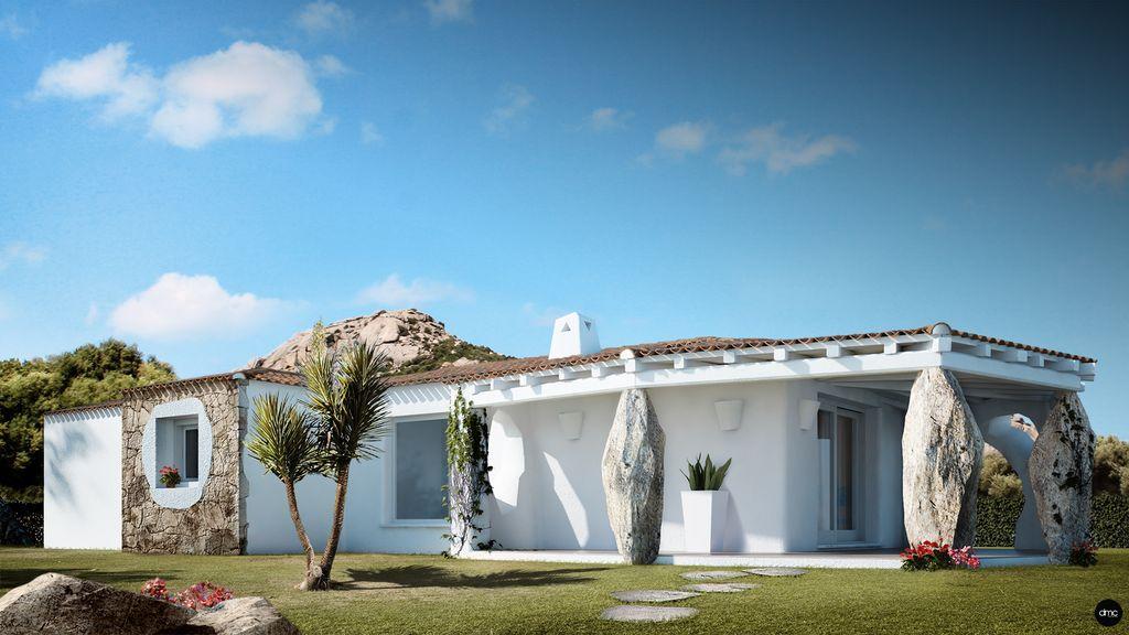 Rendering Villa in Sardegna