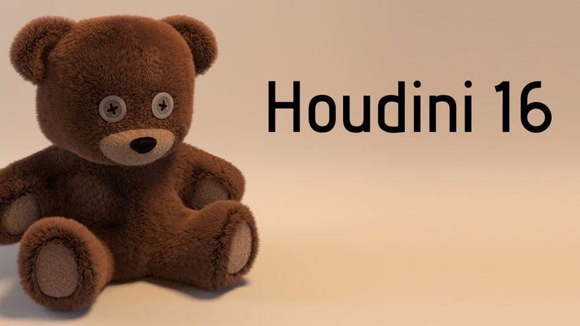 Sidefx rilascia Houdini 16