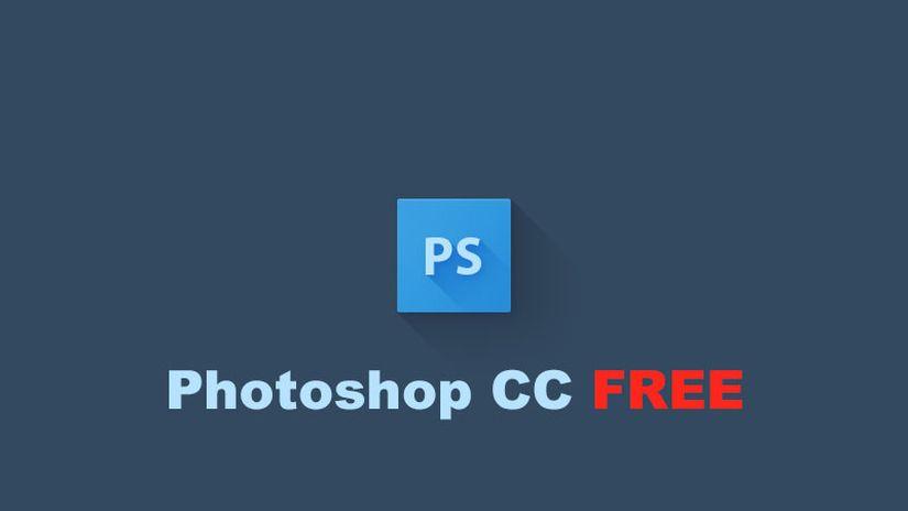 Anche Photoshop diventa gratuito!