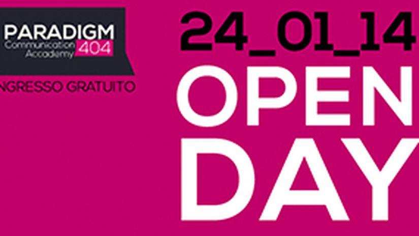 Paradigm 404 OPEN DAY Venerdì 24 Gennaio