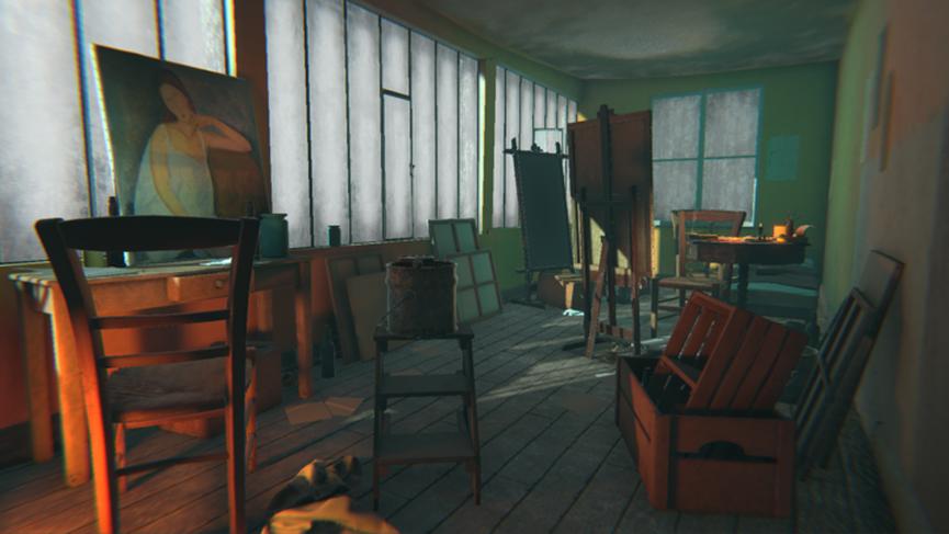 Modigliani in VR alla Tate Gallery - The Ochre Atelier