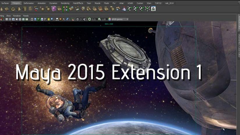Maya 2015 Extension 1