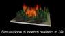 Simulazione di incendi in 3D