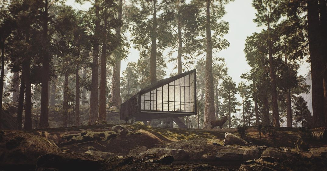 House in nature Unreal Engine 4