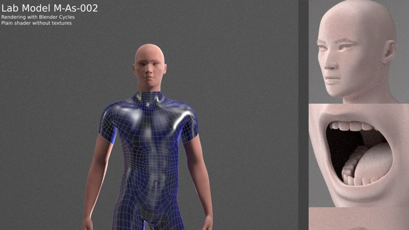 Manuel Bastioni Lab - free human models creation tool