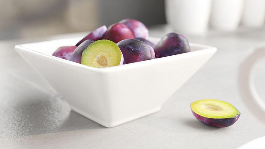 Tazza di frutta: modello 3D da scaricare gratuitamente