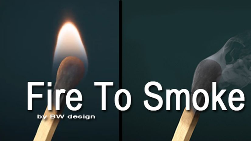 Fire To Smoke in Cinema 4D