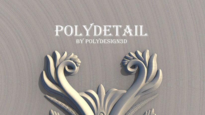 PolyDetail: aggiungere ornamenti su 3ds Max diventa facile