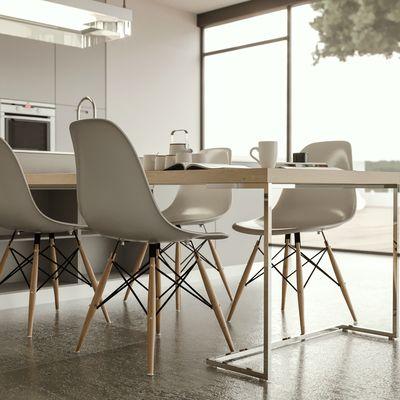 Kitchen Poliform dof view render Corona