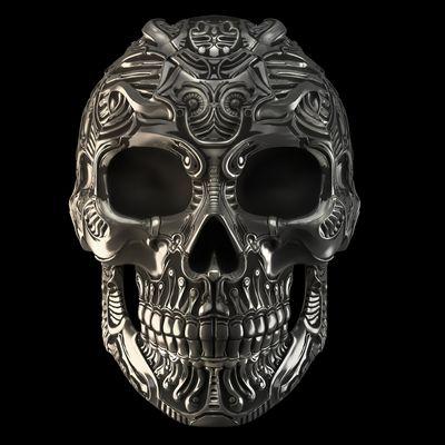 Skull Ring concept 2