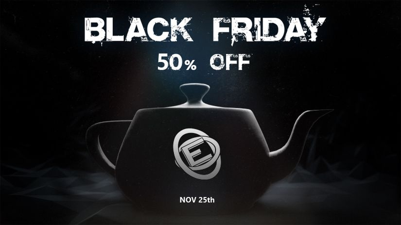 Evermotion Black Friday e Cyber Monday