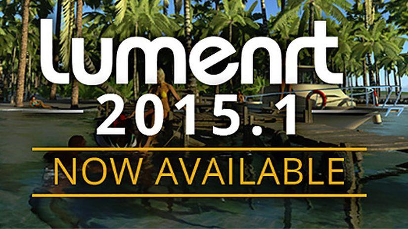 LumenRT 2015.1 update