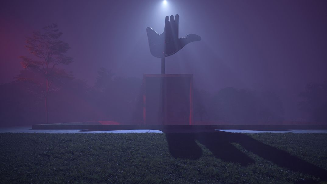 Open Hand - Le Corbusier