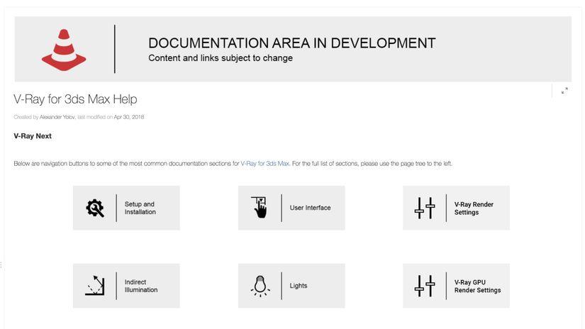 V-Ray Next per 3ds max: online la documentazione ufficiale