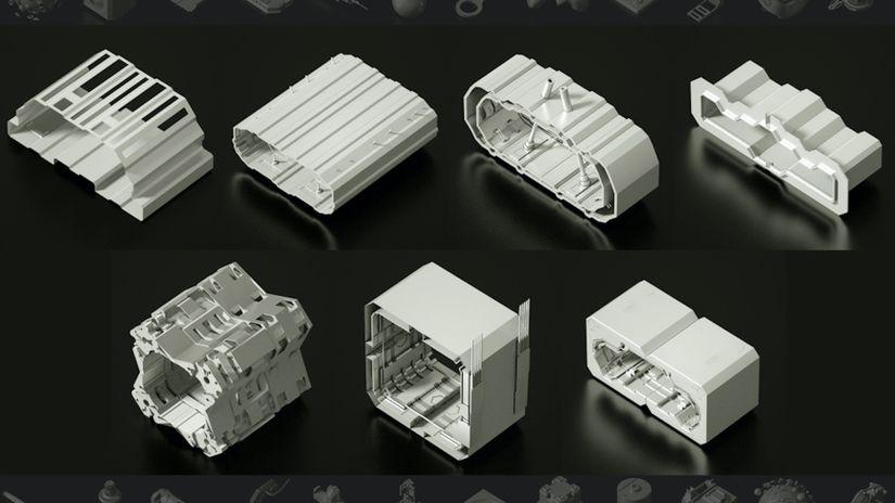 TFMSTYLE: più di 200 asset 3D da scaricare gratuitamente