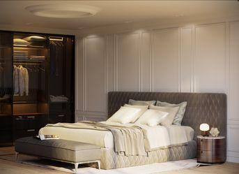 Bedroom modern classic CGI
