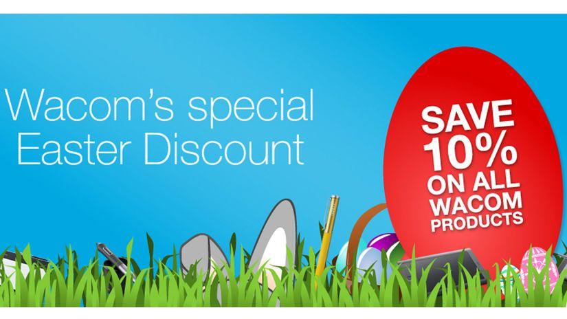 Wacom Easter Discount