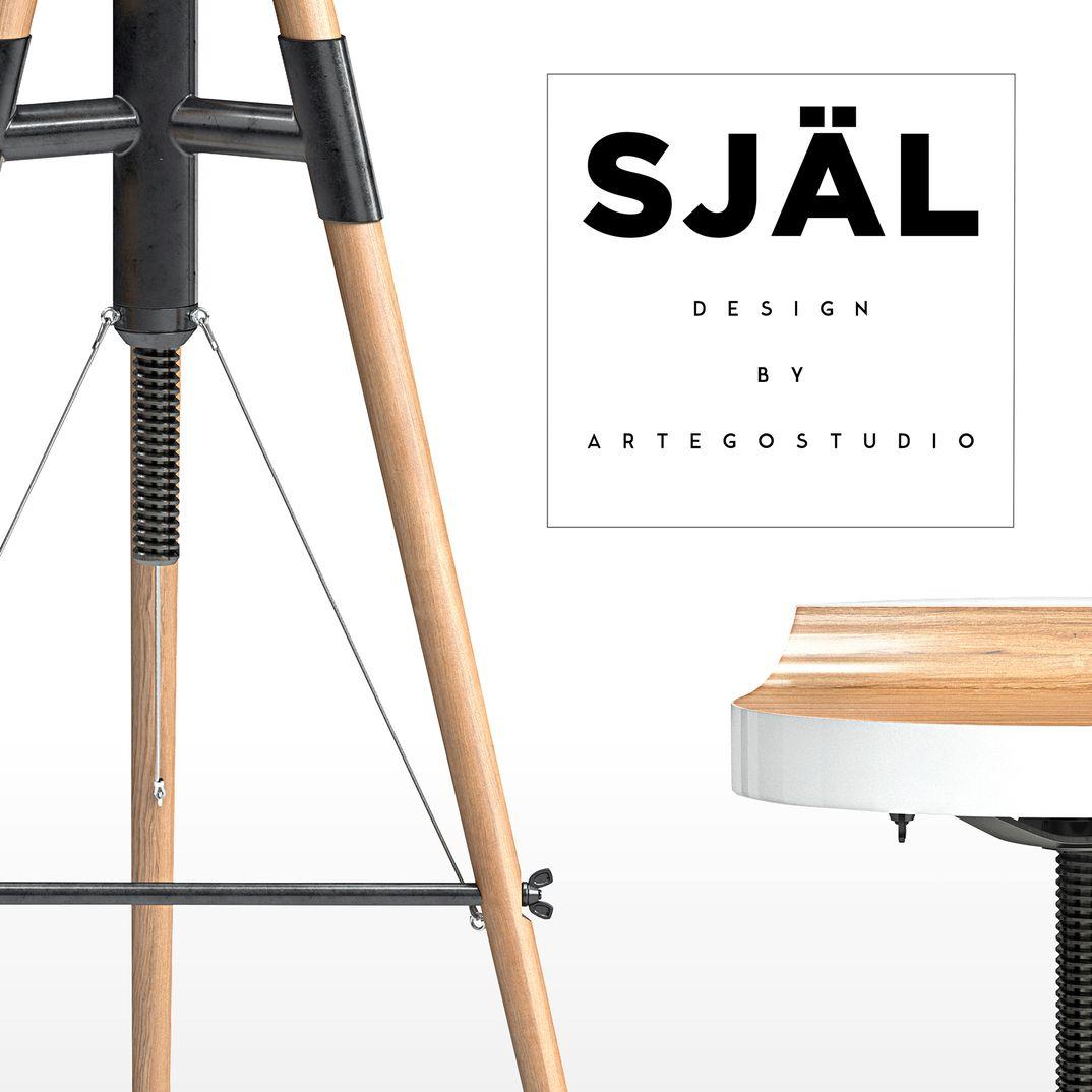 Själ Stool  - Design by Artegostudio