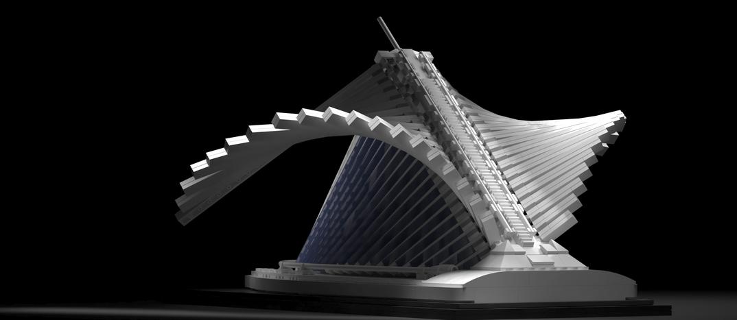 Milwaukee Art Museum - Progetto Lego Ideas