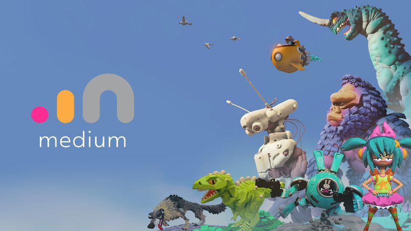 Oculus Medium: sculpt e paint in realtà virtuale