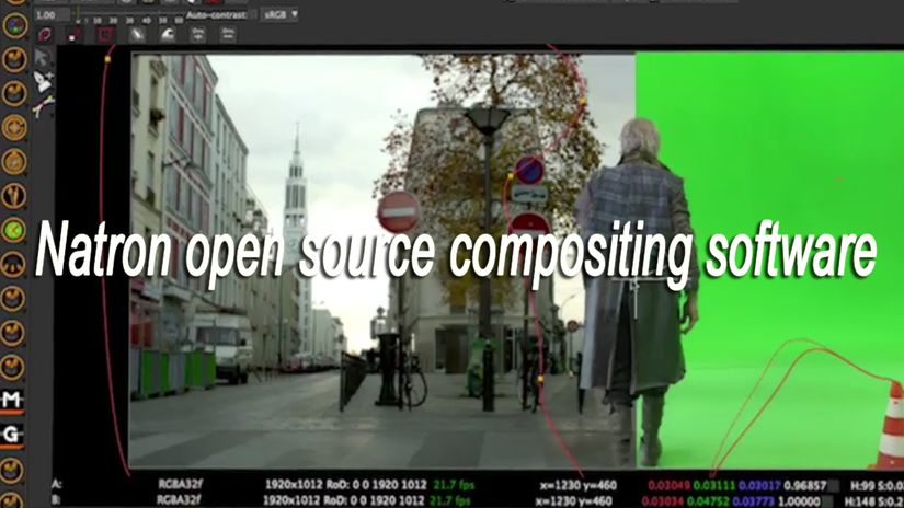 Natron open source compositing software