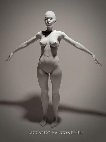 Donna (warning - contiene nudità)