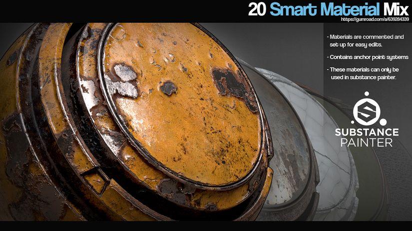 Smart Material Mix di Aleksei Kudriavcev