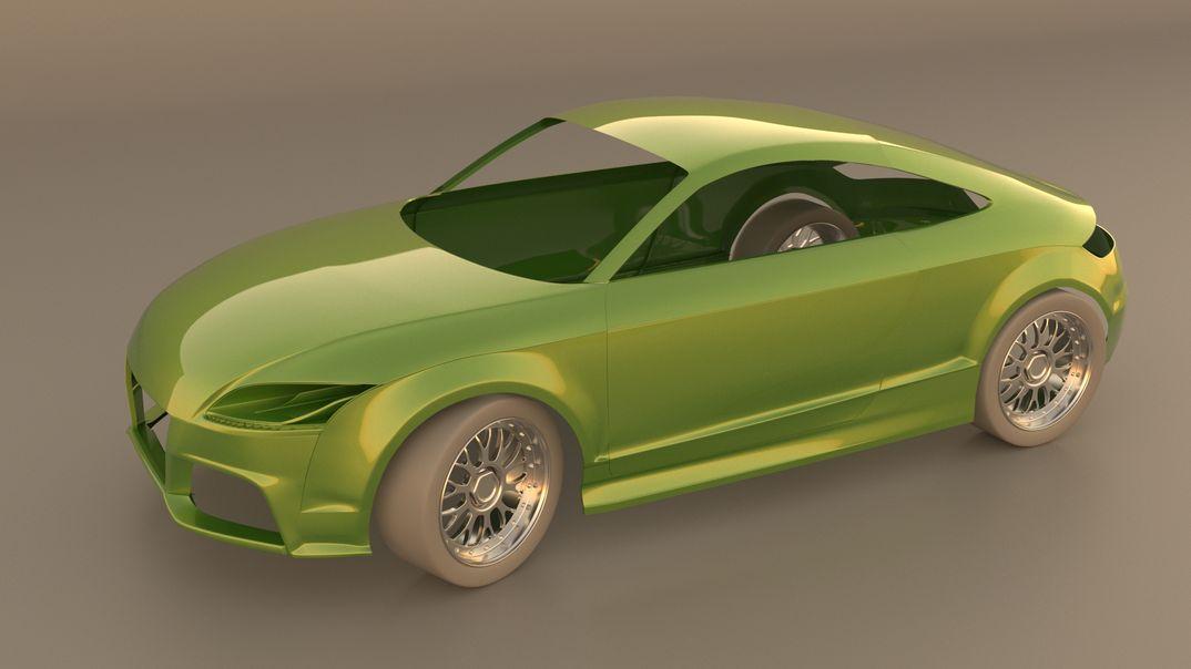Old school Audi TT