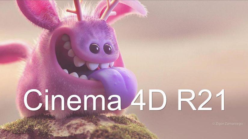 Maxon presenta Cinema 4D R21