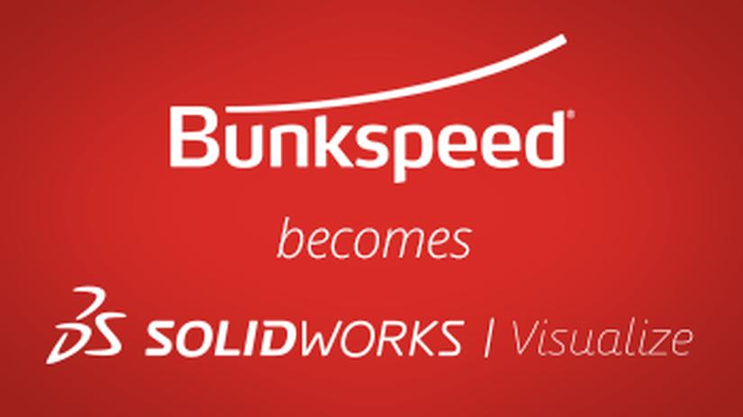 Bunkspeed diventa Solidworks Visualize