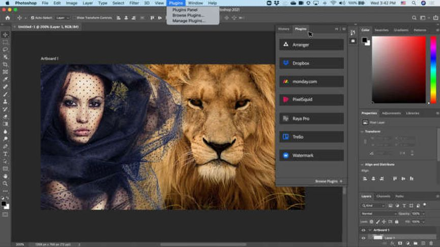 Adobe rilascia Photoshop 2021