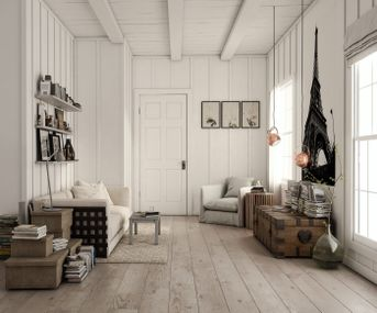 scandinavian interior project