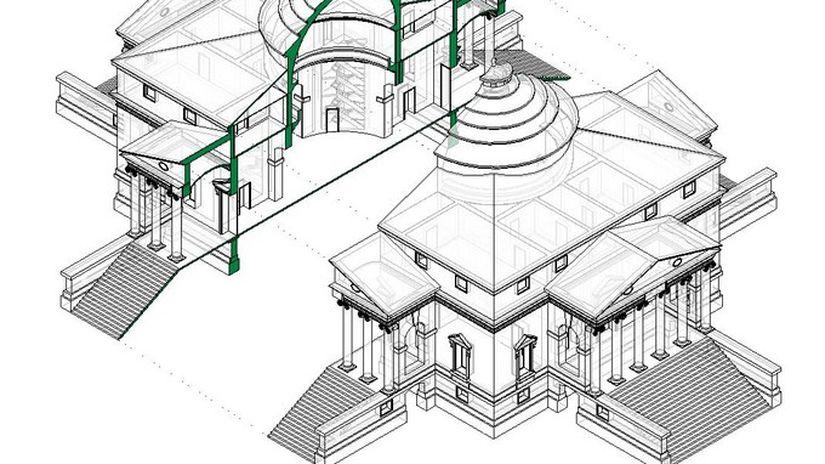 Esploso Assonometrico con Autodesk Revit