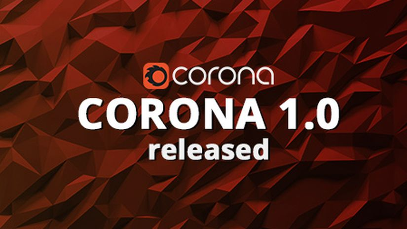 Corona Render 1.0 for 3ds Max – released