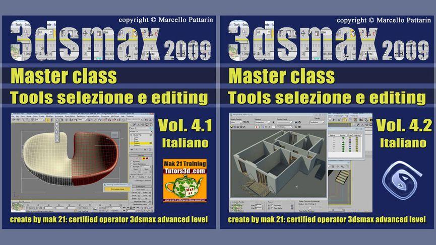 Corso 3ds Max Volume 4: Tools Selezione ed Editing.