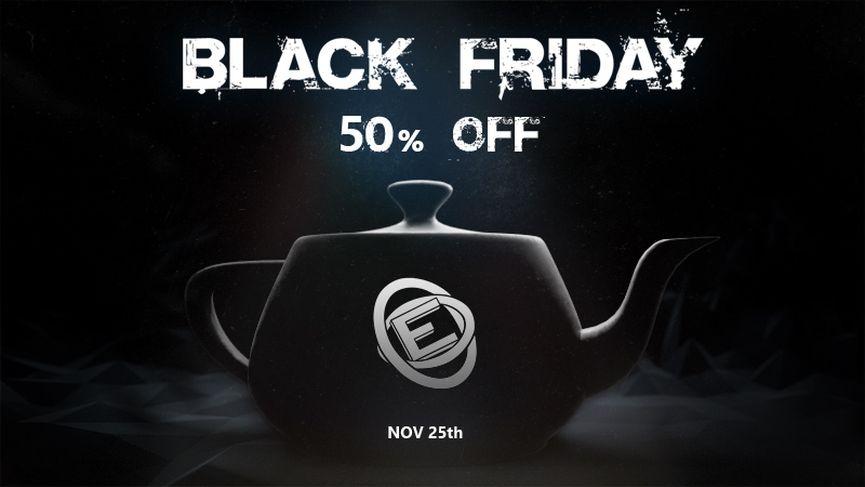 Evermotion Black Friday e Cyber Monday