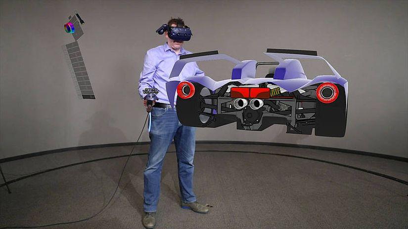 Gravity Sketch VR e Ford - il car design in realtà virtuale