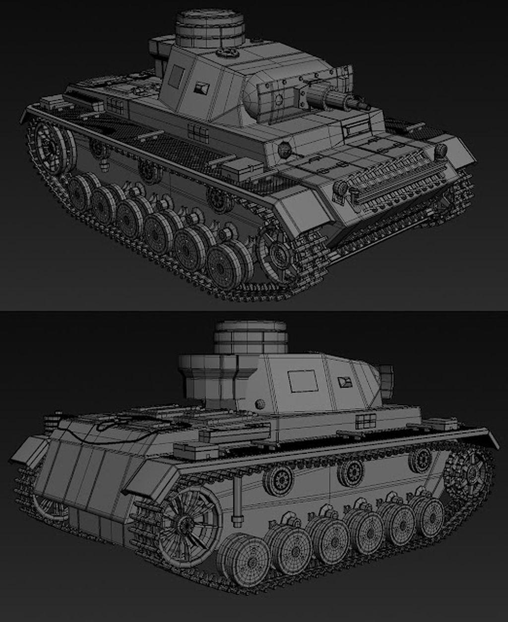 Panzer III WW2 German tank