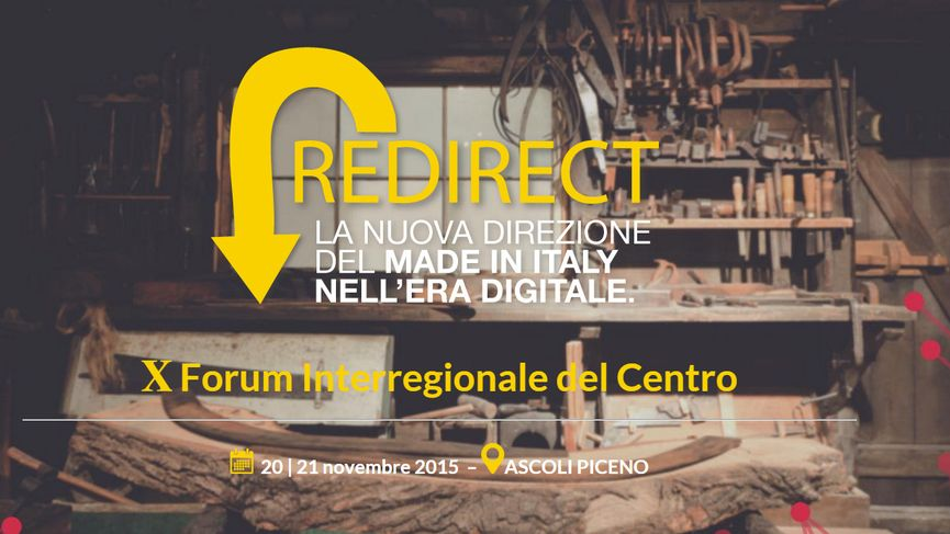REDIRECT ITALY - workshop stampa 3D