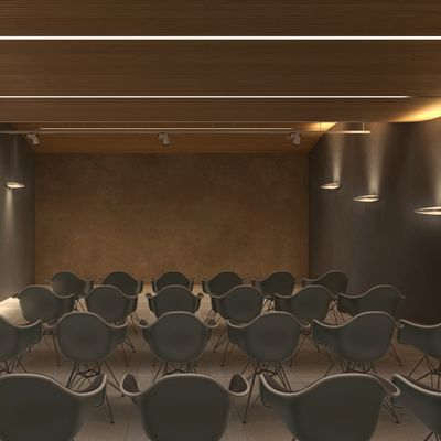Sala dimostrativa - Acustica e Lighting